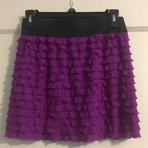 Ruffle skirt from Free People